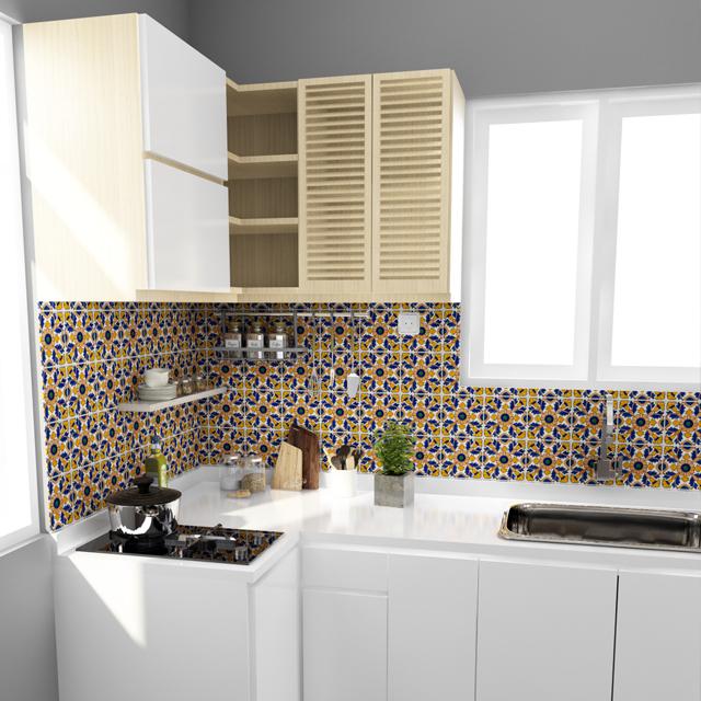 Desain Kitchen Set Untuk Ruangan Dapur